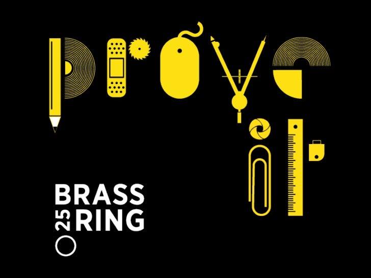 Brass Ring Awards: 25 Best of Show