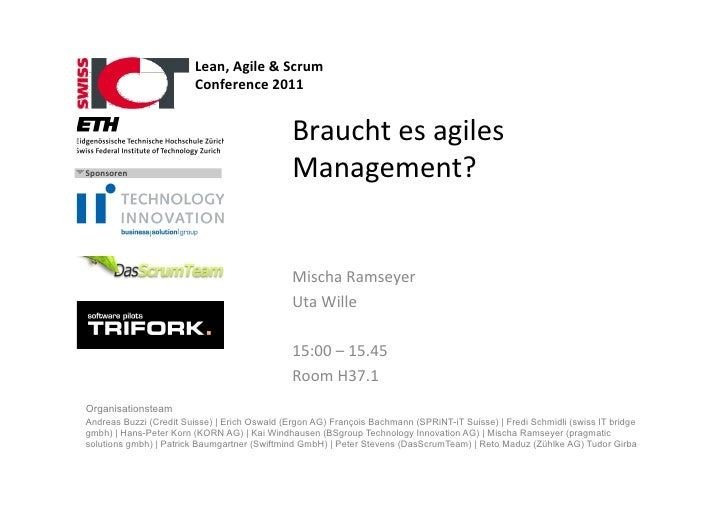 Lean,	  Agile	  &	  Scrum	  	                          Conference	  2011	                                                 ...