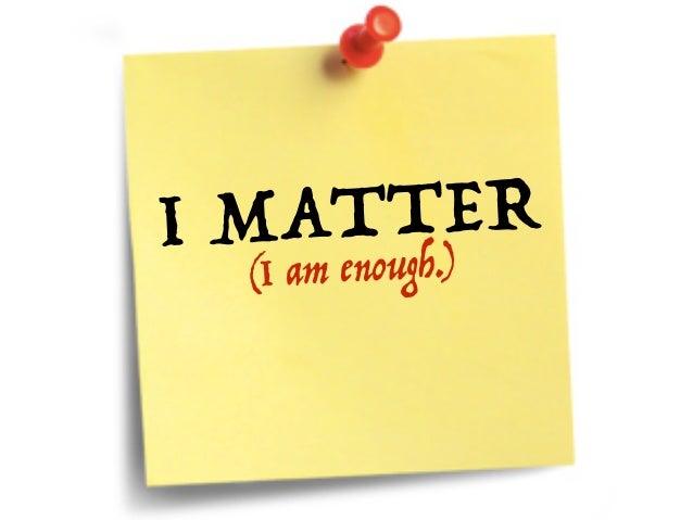 #Choose2Matter