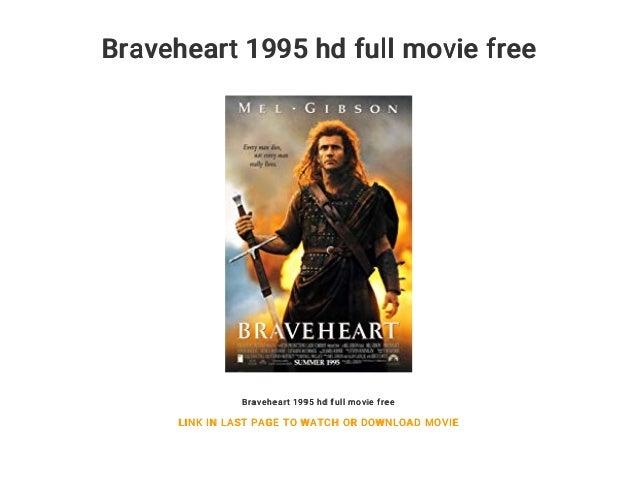 braveheart 1995 full movie online