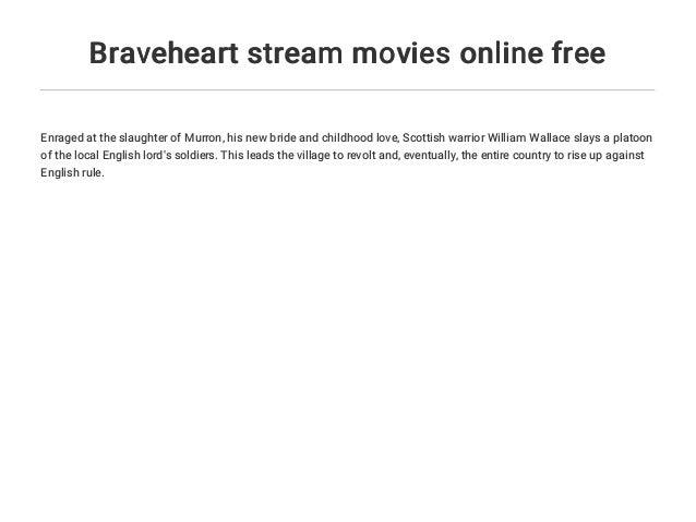 Braveheart Online Stream