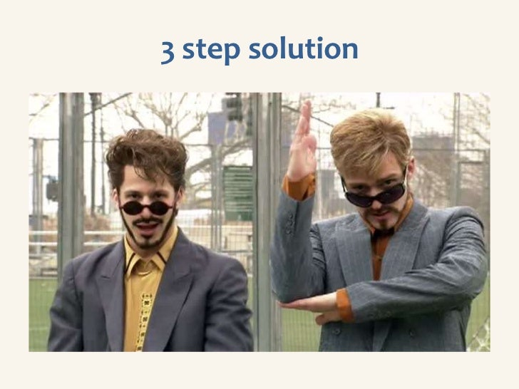 3 step solution