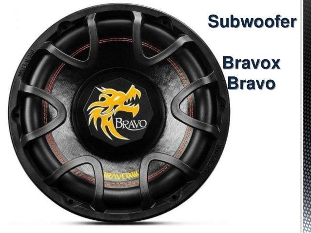 Subwoofer Bravox Bravo