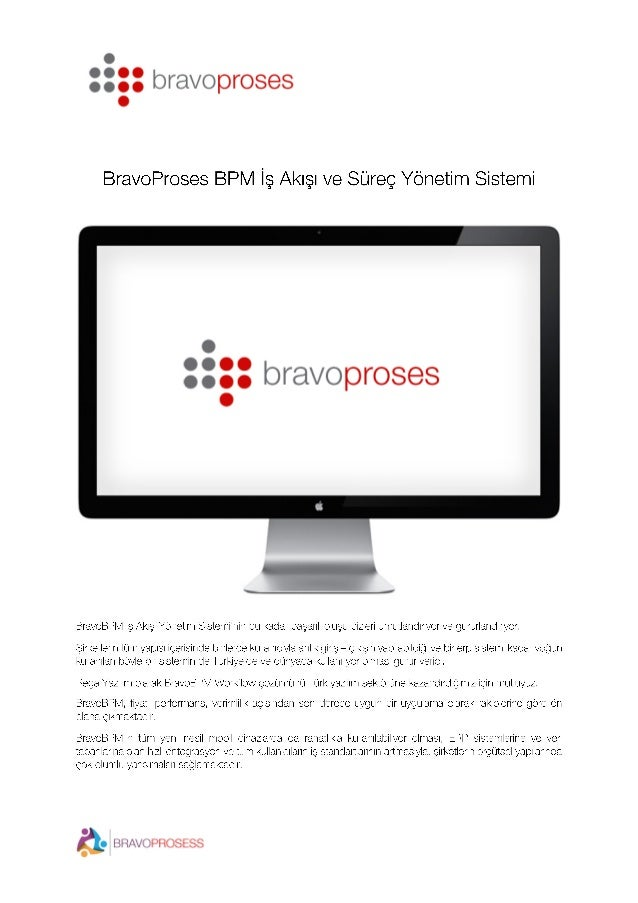 BPM iş süreçleri ve iş akışı yönetim sistemi Slide 1