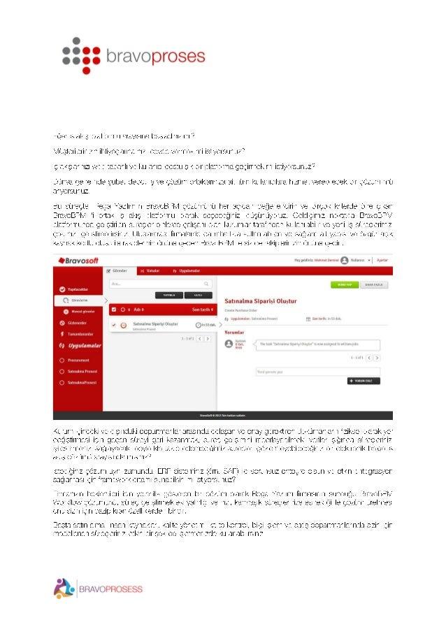 BPM iş süreçleri ve iş akışı yönetim sistemi Slide 2