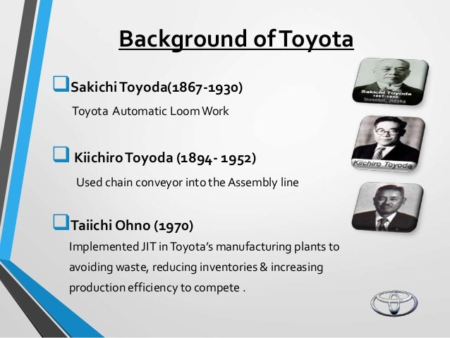 toyota case study case 4 toyota Strategic management case study - toyota 1 genevieve hrdlicka ioannis mikedis 15 may 2014 1 2 1 overview of company a introduction.