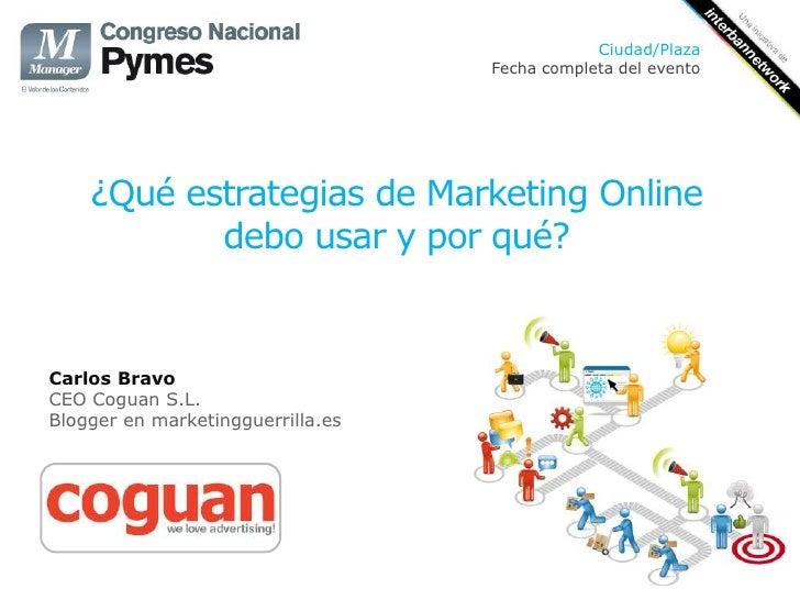 Ciudad/Plaza                                   Fecha completa del evento    ¿Qué estrategias de Marketing Online          ...