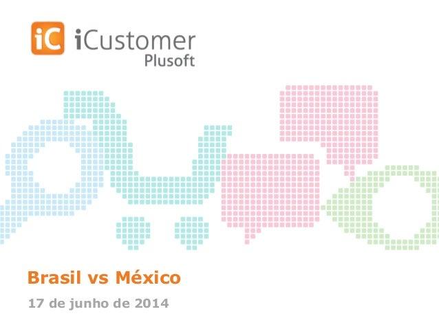 Brasil vs México 17 de junho de 2014