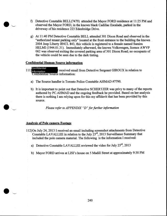 Document on Alexander Lisi drug arrest