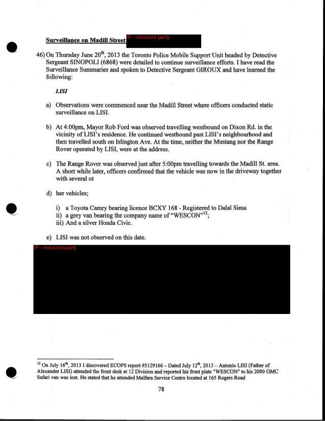 •  IP - innocent party  • .......___,  Summary of Transcripts  IP - innocent party  79