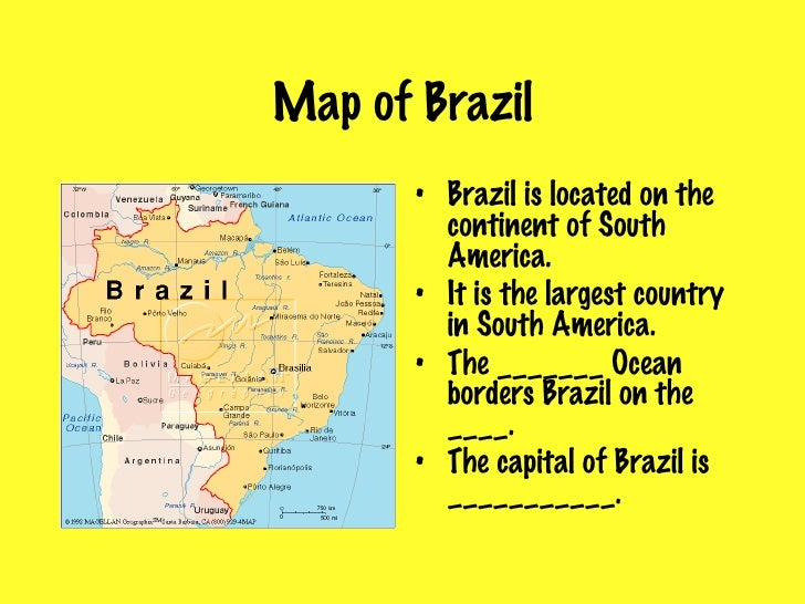 Brazil - Where is brazil located