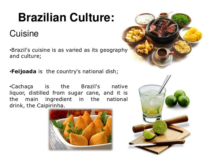 an introduction to the geography and culture of brazil Brazil introduction :  almost half of brazil's territory is covered by the basin of the amazon river and its tributaries, a region that is one of the world's .
