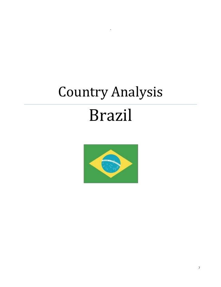 .Country Analysis    Brazil                   7
