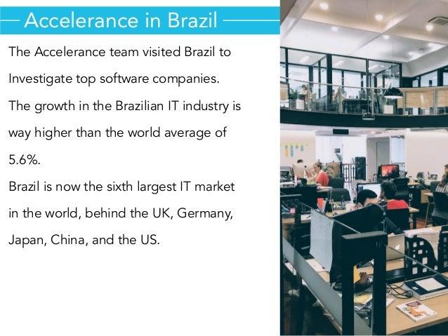 Outsourcing Software Development to Brazil  Slide 3