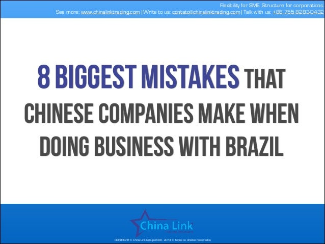 Flexibility for SME. Structure for corporations. See more: www.chinalinktrading.com | Write to us: contato@chinalinktradin...