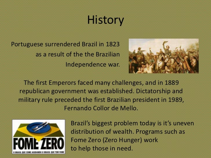 the brazilian independence movement essay Start studying chapter 25: the consolidation of latin america  leader of independence movement in rio de la how did the brazilian government differ from its.