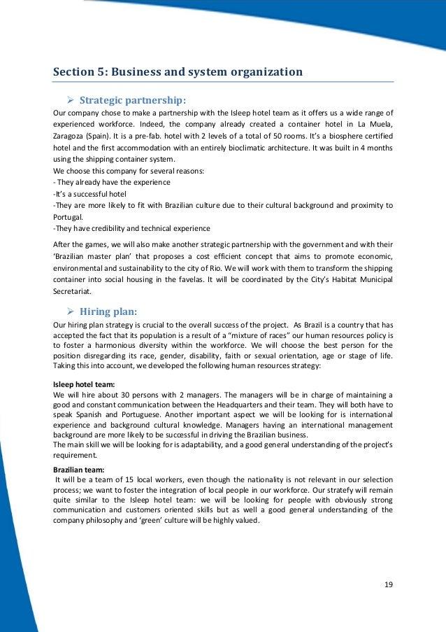 ibrio incorporated business plan