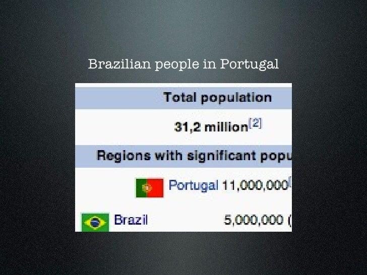 Brazilian people in Portugal