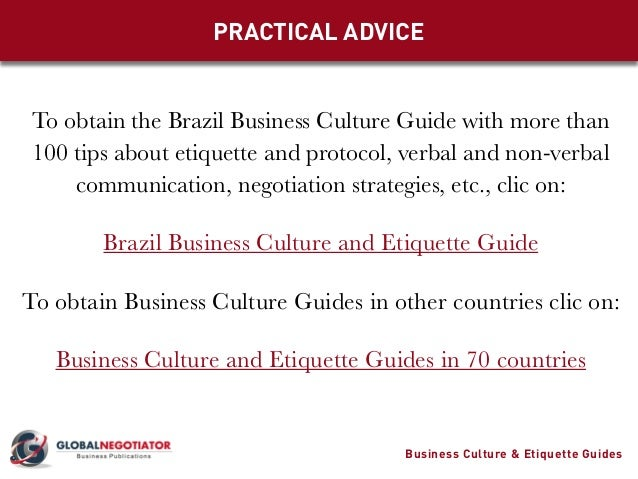 manners in brazilian culture