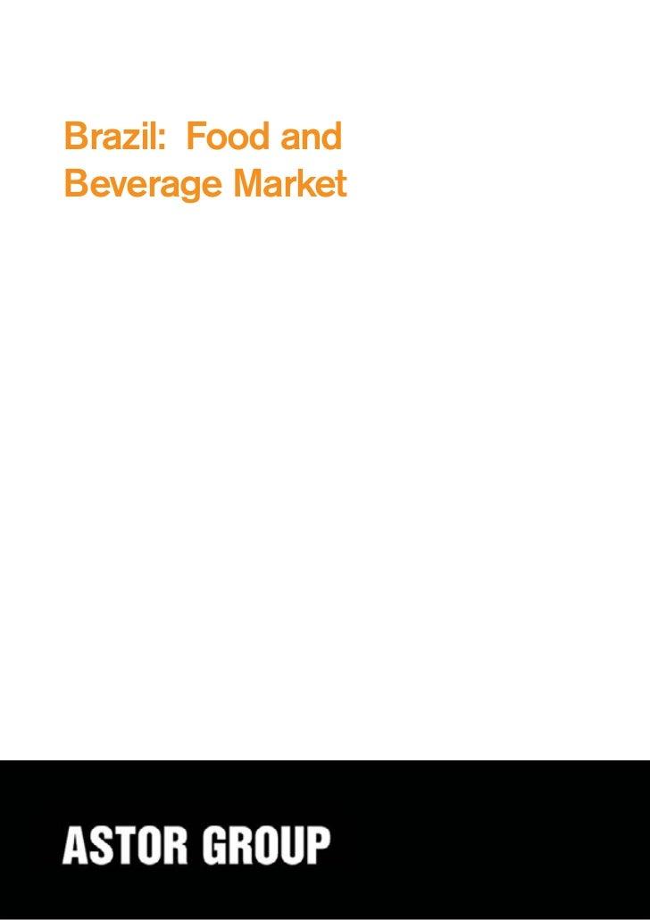 Brazil: Food andBeverage Market