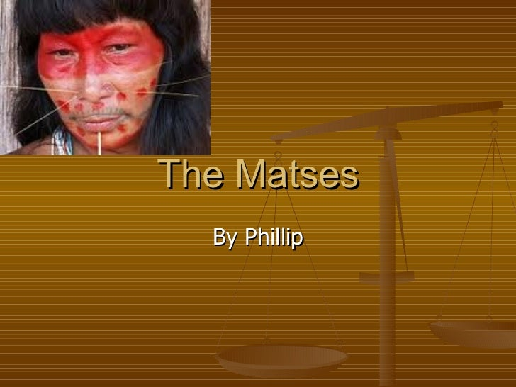 The Matses By Phillip