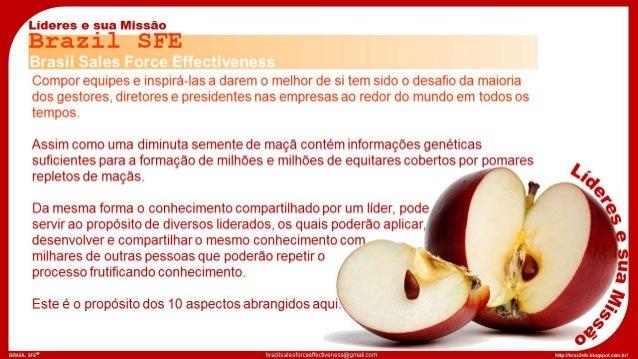 BRASIL SFE® http://brazilsalesforceeffectiveness@gmail.com brazilsfe.blogspot.com.br/