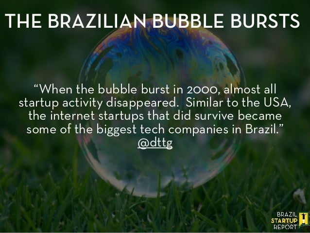 """When the bubble burst in 2000, almost all startup activity disappeared. Similar to the USA, the internet startups that di..."