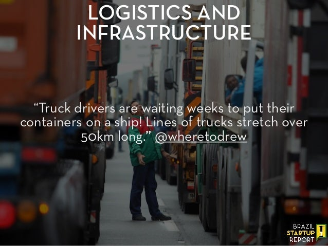 """""""Truck drivers are waiting weeks to put their containers on a ship! Lines of trucks stretch over 50km long."""" @wheretodrew ..."""