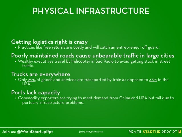PHYSICAL INFRASTRUCTURE Getting logistics right is crazy • Practices like free returns are costly and will catch an entrep...