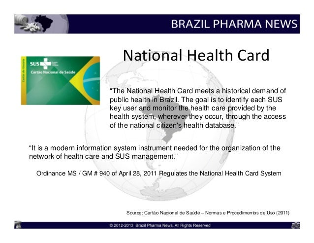 brazil s health care policy To get the health care they need universal health  policy makers,  nearly 70 per cent of brazil's 200 million inhabitants now rely.