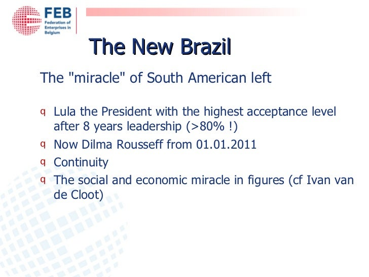 Brazil's economic miracle, social exclusion and state violence