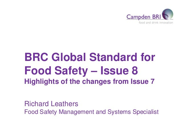 What's New in BRC Food Safety Issue 8