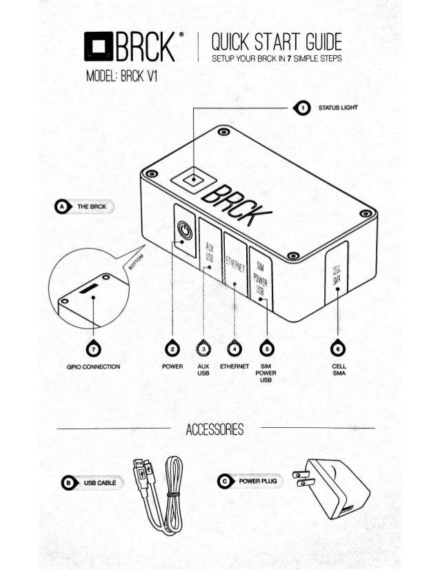 Brck v1 Quick Start Guide