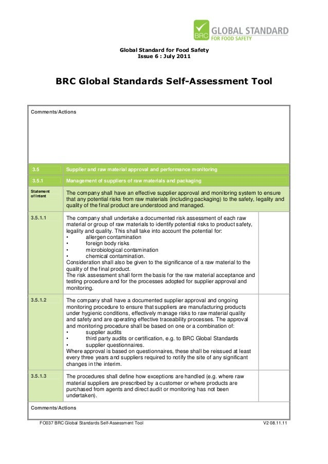 BRC FOOD SAFETY STANDARD ISSUE 6 PDF DOWNLOAD