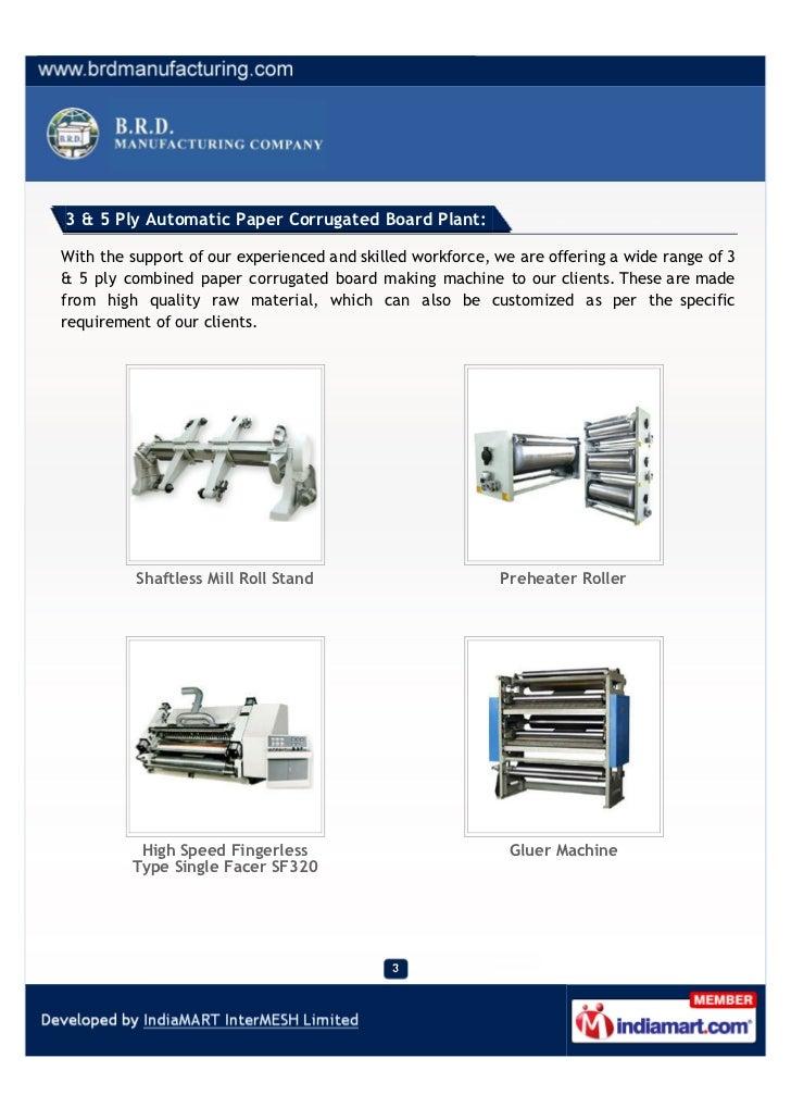 B.R.D Manufacturing Company, Kolkata, Box Making Machinery Slide 3