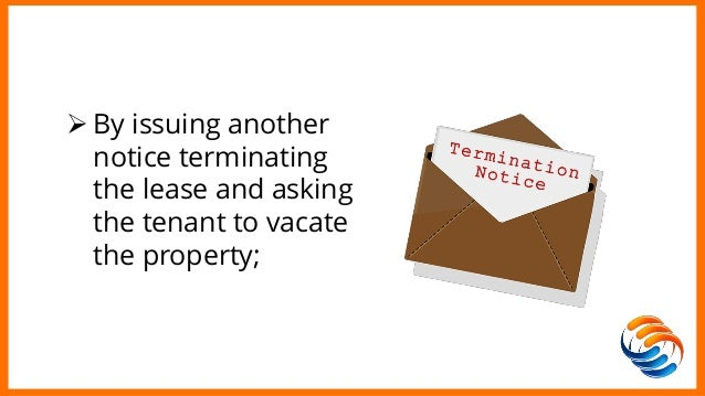 How to Terminate a Commercial Lease for nonpayment of Rent – Notice to Vacate Commercial Property