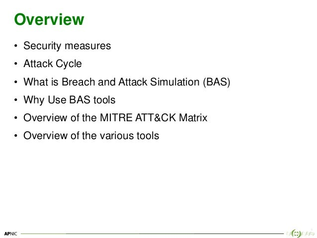 Breach and attack simulation tools Slide 2
