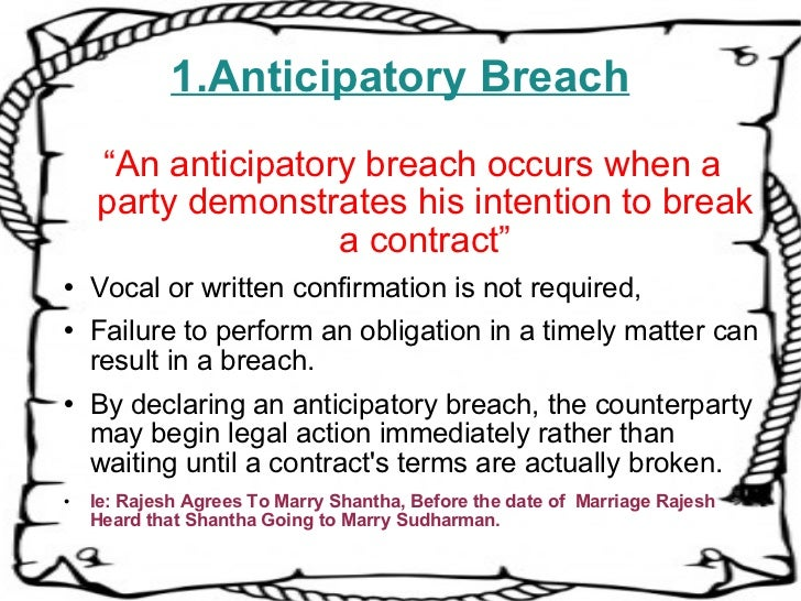 Use 'breach of contract' in a Sentence