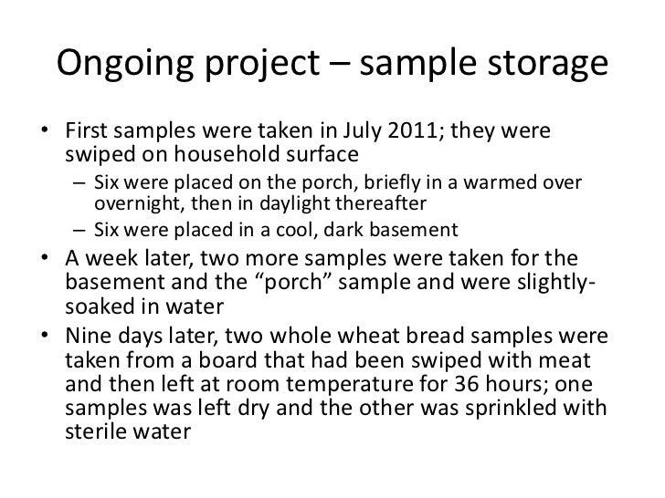 Home science - bread & microorganisms Slide 2