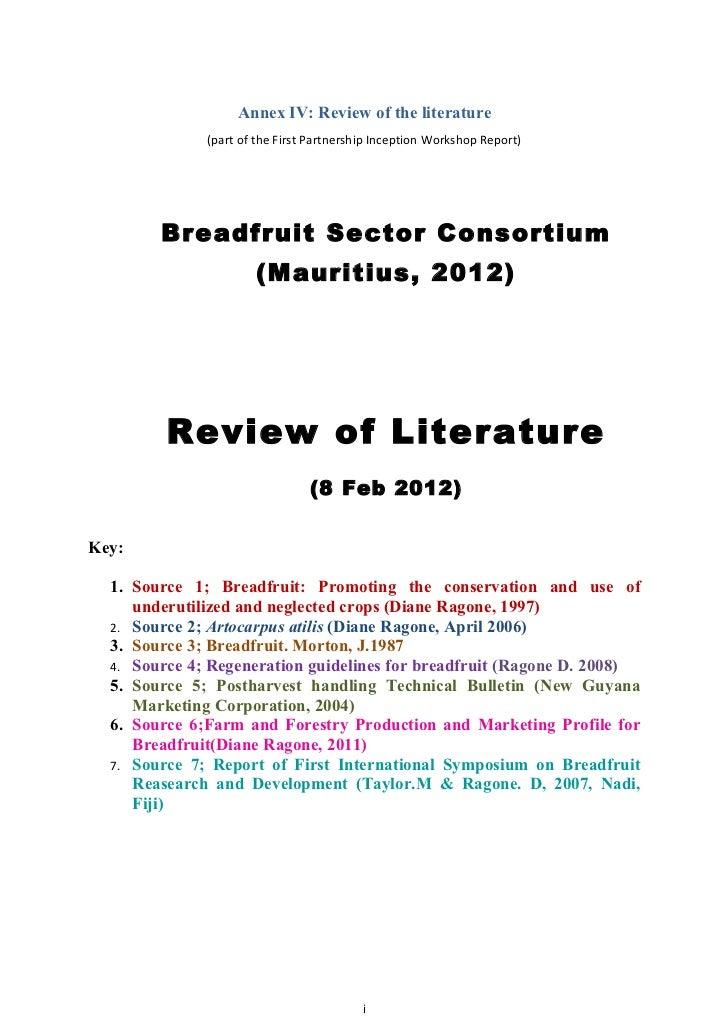 Breadfruit lit rev - word version