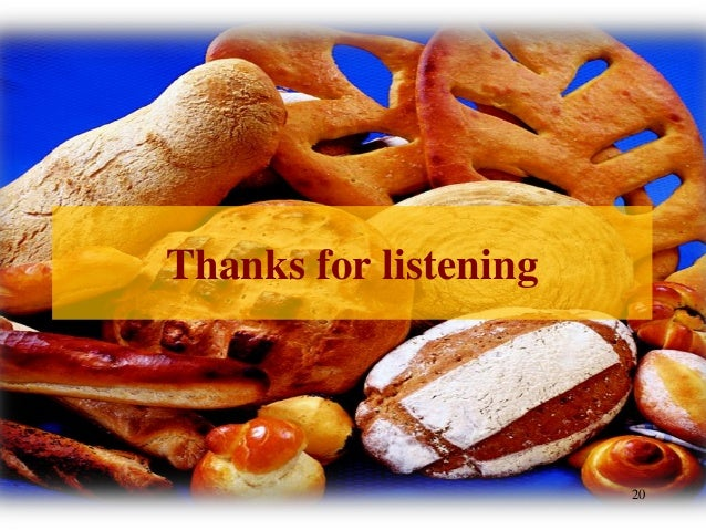 Thank You For Baking: Causes Of Bread Staling