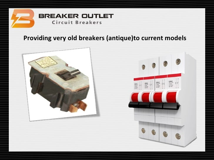 Breaker Outlet Circuit Breaker Manufacturers