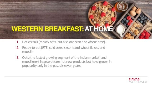 INDIA - BREAKFAST SEGMENT ANALYSIS MARCH 2015