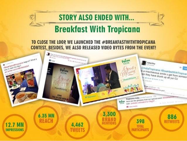 How #BreakfastWithTropicana Became A Platform To Reinforce The Importance Of Breakfast