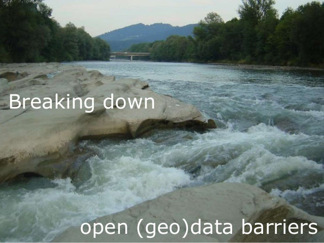 Click to edit Subtitle (optional) Breaking down open (geo)data barriers