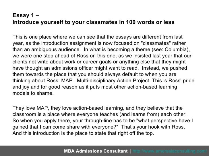 How to write an essay about yourself in third person