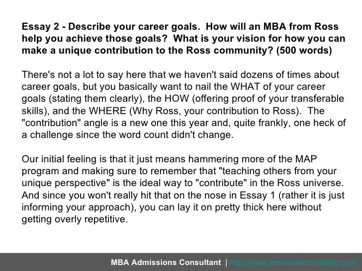Career aspirations essay mistyhamel