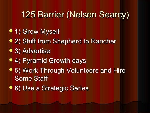 200 barrier key factors:200 barrier key factors: contagious desire to growcontagious desire to grow identify growth acce...
