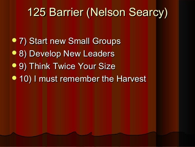 Breaking growth barriers for Church Leaders