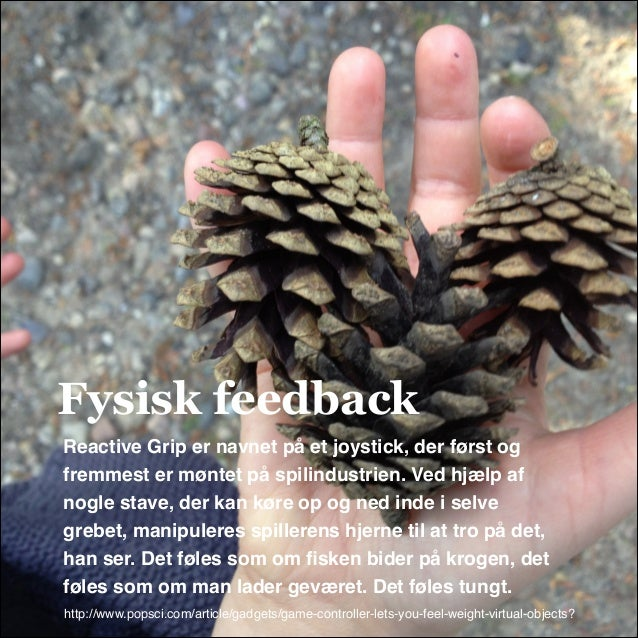 Fysisk feedback Reactive Grip er navnet på et joystick, der først og fremmest er møntet på spilindustrien. Ved hjælp af no...